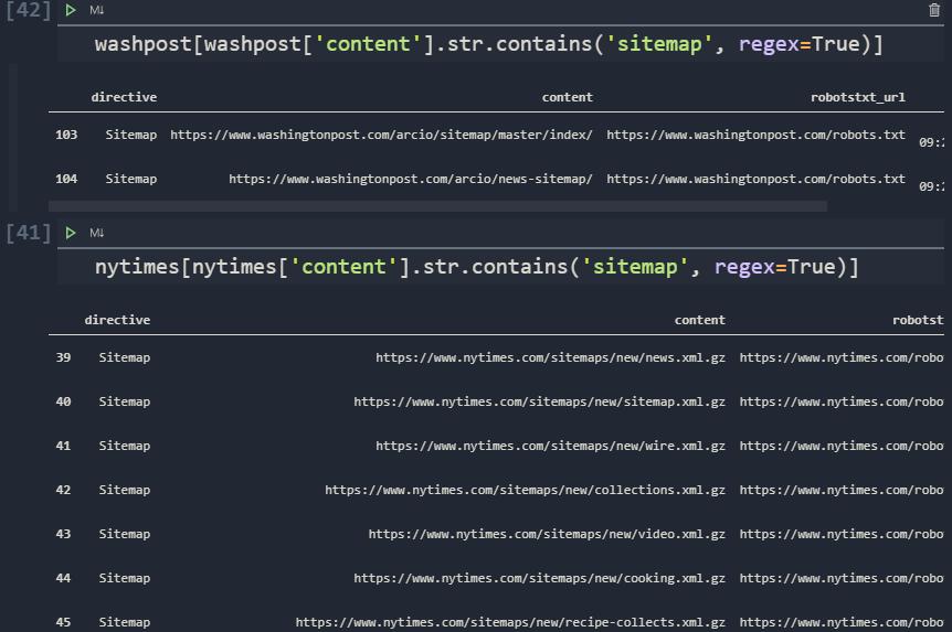 Robots.txt File Comparing for SEO via Python