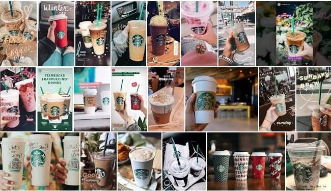 Starbucks Instagram Stories