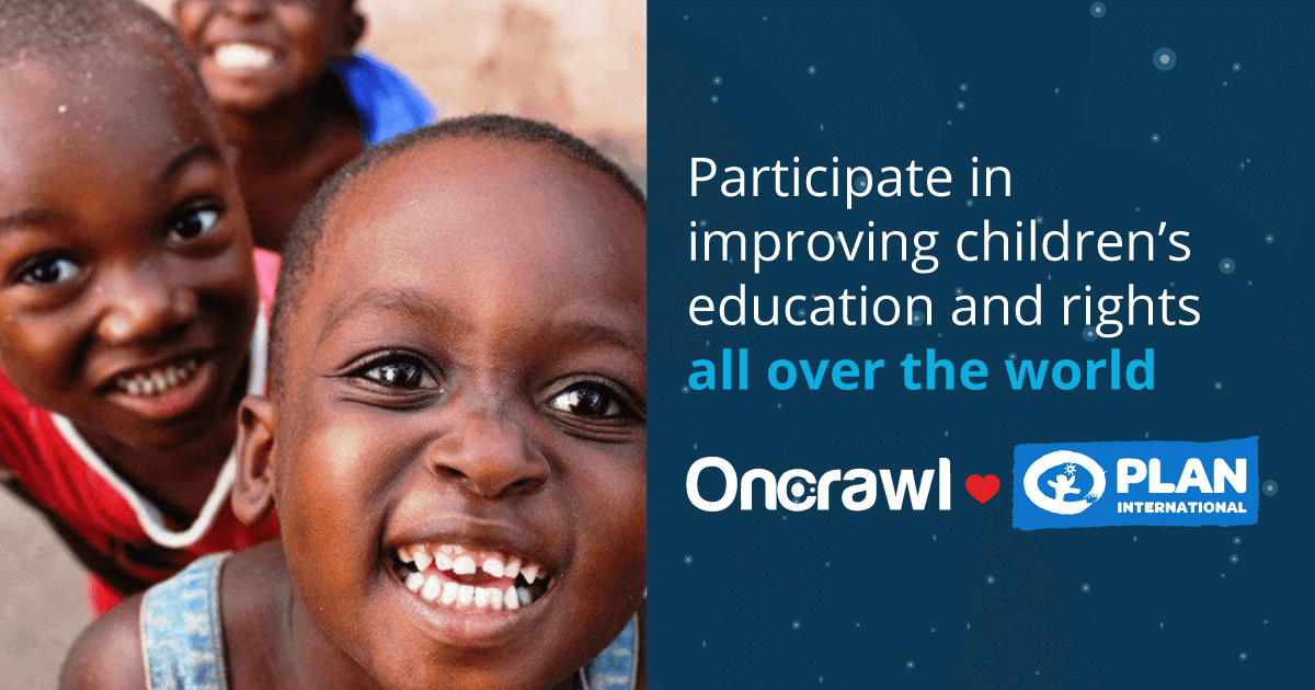 OnCrawl SEOs for Education Charity Campaign