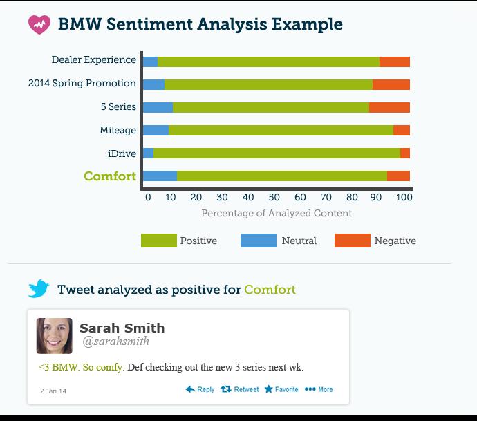 BMW's Sentiment Analysis Example.