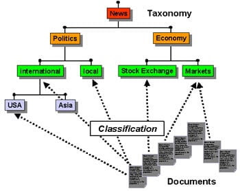 Taxonomy, Ontology Connection