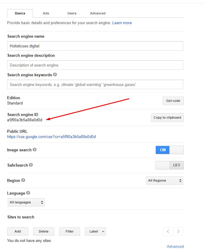 Custom Search Engine ID