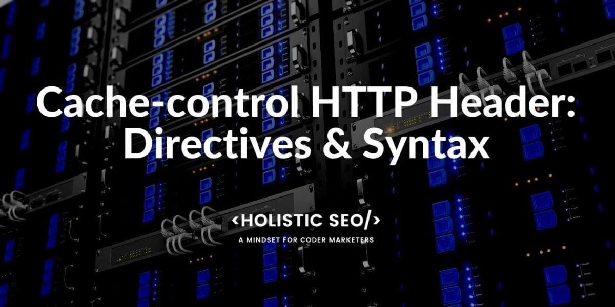 Cache-control HTTP Header