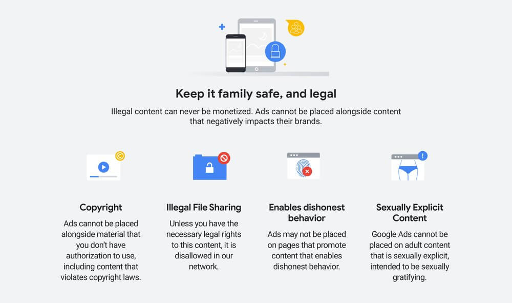 Google Monetization Policy