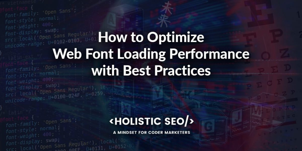 Web Font Loading Optimize