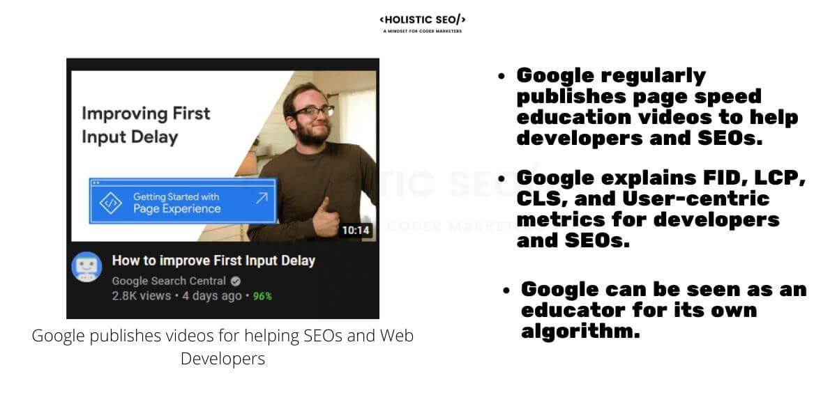 Google User-centric Metrics